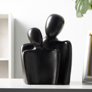 Creative Modern Simple Figurines Crafts Couple Lover Model - Targen