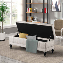 Load image into Gallery viewer, Unique Upholstered Storage Bench - Targen