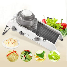 Load image into Gallery viewer, Adjustable Mandoline Slicer Professional Grater Vegetable Cutter - Targen