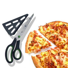 Load image into Gallery viewer, Pizza Scissor Pancake Cutter Pie Serve Slice Tool Shear Cutter - Targen