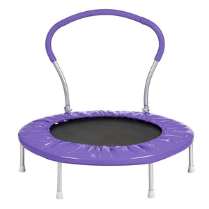 36 Inch Mini Trampoline With Handle (PU) Safety Trampoline For Kids