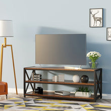 Load image into Gallery viewer, Lengthened TV Cabinet Coffee Table with Metal Frame