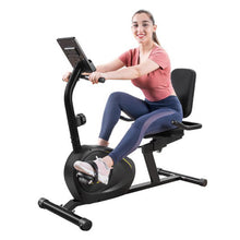 Load image into Gallery viewer, Magnetic Recumbent Exercise Bike Fitness Stationary Bicycle - Targen