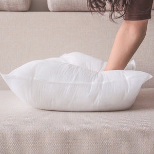 Hight Quality White Cushion Insert Soft Cotton Throw Pillow Core - Targen