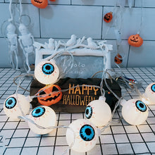 Load image into Gallery viewer, Halloween String Lights Ghost Eye String Lights