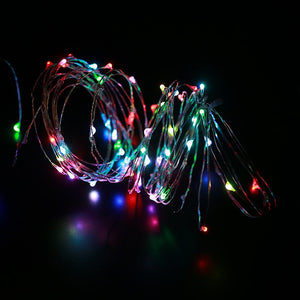 33ft 100LEDs RGB Copper Wire Multicolor String Lights