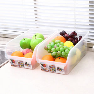 Multifunction Refrigerator Storage Rack Shelf Holder Drawer Box - Targen