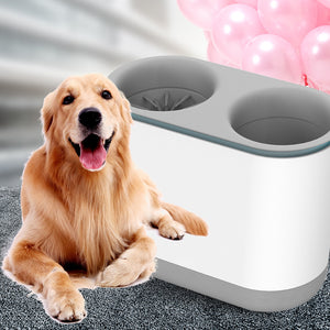 Electric Dog Cat Paw Cleaner Automatic Washer with Comfortable Silicone Massage - Targen