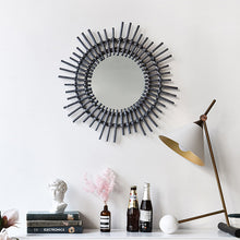 Load image into Gallery viewer, Wall Hanging Makeup Mirror Art Decoration Frame Dressing Mirror - Targen
