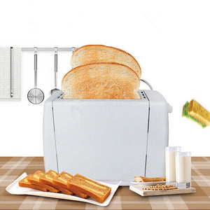 Electric Bread Toaster  Stainless Steel Automatic Slices Slots Machine - Targen