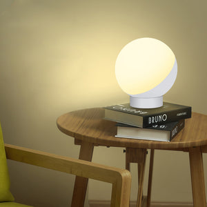 Table Lamp WiFi Voice-Controlled Night Light Intelligent Color-Adjustable Eye Protection Lamp - Targen