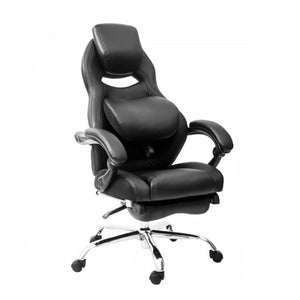 Office Chairs with Adjustable Lumbar Support Executive Swivel High Back - Targen