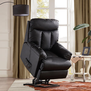 Lift Chair and Power PU Leather Heavy Duty Reclining Mechanism - Targen