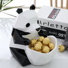 Load image into Gallery viewer, Storage Figurine Creative Panda Candy Box Statue Decoration - Targen