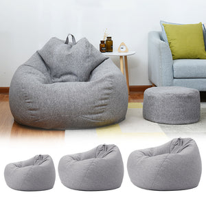 Lazy Sofas Chairs Cover Without Lounger Seat - Targen