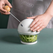 Load image into Gallery viewer, Mini Manual Food Chopper Durable Hand Held Food Grinder