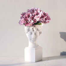 Load image into Gallery viewer, Targen Resin Female Statue Lady Head Planter