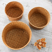 Load image into Gallery viewer, Storage Basket Hand-knitted Folding Flowerpot - Targen