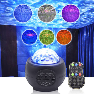 RGB Star Projector LED Night Light for Party Christmas Halloween
