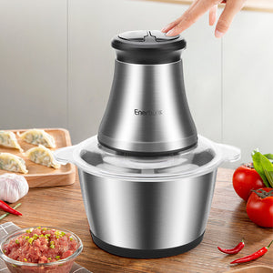 Stainless Steel Food Processor for Meat Vegetables Fruits and Nuts