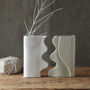 Nordic Modern Simple Vase Art Creative  Flower Pots - Targen