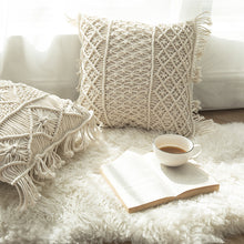 Load image into Gallery viewer, Chic Knitting Design Nordic Design Back Sofa Bed Pillow - Targen