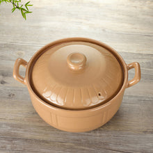 Load image into Gallery viewer, Kitchen Soup Pot High Temperature Open Flame Ceramic Steamer - Targen