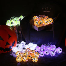 Load image into Gallery viewer, Set of 5 Halloween String Lights for Halloween  Outdoor & Indoor Decorations