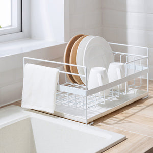 Kitchen Dish Drainers Storage Organizer Holders Tray for Tableware - Targen