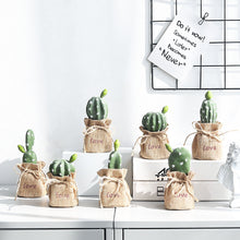 Load image into Gallery viewer, Nordic Decoration Resin Decorative Cactus Miniature Figurines - Targen