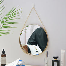 Load image into Gallery viewer, Bathroom Mirror Nordic Metal Round Wall Mount Mirror - Targen