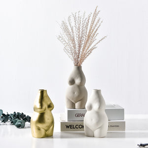 Female Body Flower Vase Chic Body Flower Pot - Targen