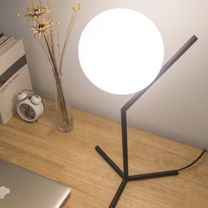 Table Lamp LED Ball Shape Study Room Lamp Indoor Home Decor - Targen