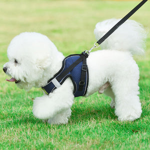 Pet Leash Vest Type Dog Chest Strap Small And Medium-sized Dog Leash Chest - Targen
