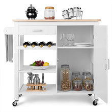 Load image into Gallery viewer, Targen Kitchen Cart Rolling Trolley Table on Wheels