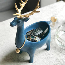 Load image into Gallery viewer, Resin Deer Design Jewelry Display Stand Keys Organizer Storage - Targen