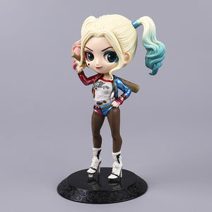 Qposket Harley Quinn Ugly Female Hand-Made Model Doll Decoration - Targen