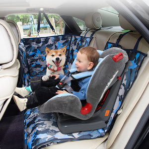 Dog Back Seat Cover Protector Waterproof Scratchproof Against Dirt and Pet Fur