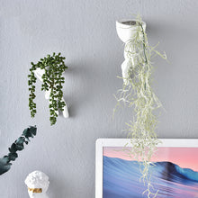Load image into Gallery viewer, Nordic Portrait Art White Flower Pot Decoration Ornaments - Targen