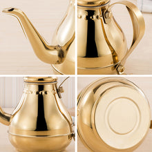 Load image into Gallery viewer, Stainless Steel Tea Pot With Strainer Tea Infuser Teaware Sets - Targen