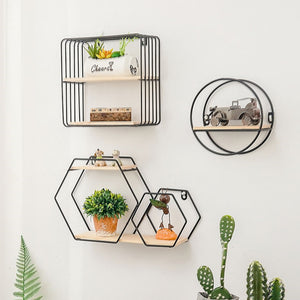 Multi Shape Metal Iron Storage Rack & Holders - Targen