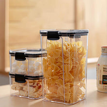 Load image into Gallery viewer, Food Storage Container Plastic Kitchen Refrigerator Noodle Box 700/1300/1800ML