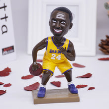 Load image into Gallery viewer, NBA Basketball Star Kobe Bryant Doll Figurines Miniatures Resin Ornament - Targen