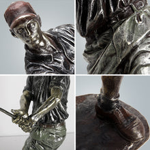 Load image into Gallery viewer, Resin Golfer Sculpture Bronze Plated Golf Statue Home Decoration - Targen