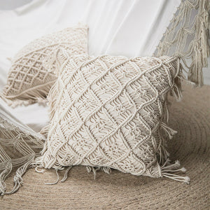 Chic Knitting Design Nordic Design Back Sofa Bed Pillow - Targen