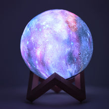 Load image into Gallery viewer, 3D Printing Magic RGB LED Moon Lamp Space LED Night Light - Targen