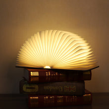 Load image into Gallery viewer, Creative Modern Wooden Book Light