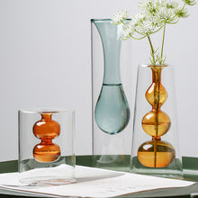 Load image into Gallery viewer, Nordic Style Creative Glass Small Gourd Flower Vase - Targen
