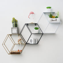Load image into Gallery viewer, Decorative Wall Shelf Metal Decorative Storage Holder - Targen