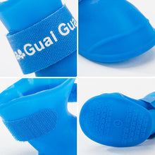 Load image into Gallery viewer, Soft Waterproof Pet Rain Shoes Cat Foot Cover
